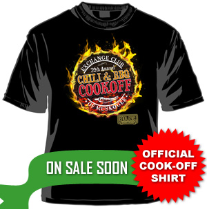 Chili and Barbeque Cook-Off Shirt