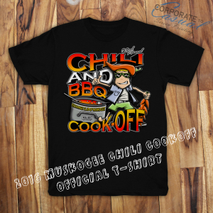 Chili and Barbecue Cook-Off Shirt
