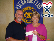 Donation - Muskogee Exchange Club